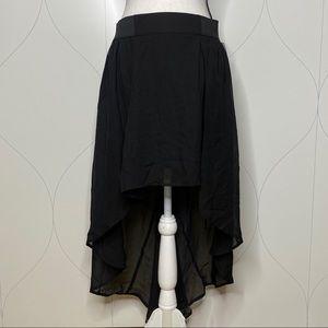 NWT No Boundaries HiLo Elastic Skirt black L 11/13